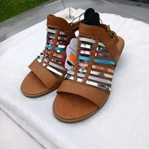 Nwt Wonder Nation Gladiator short heel Sandals